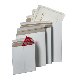 Nat-Flats™ White Self-Seal Mailers